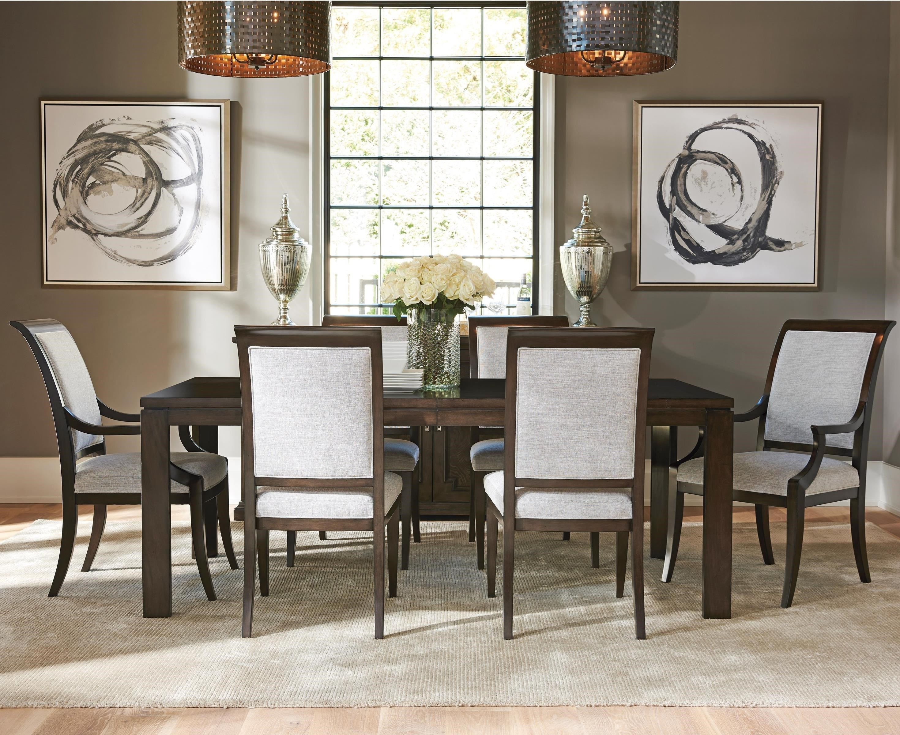 Barclay Butera Brentwood7 Pc Dining Set
