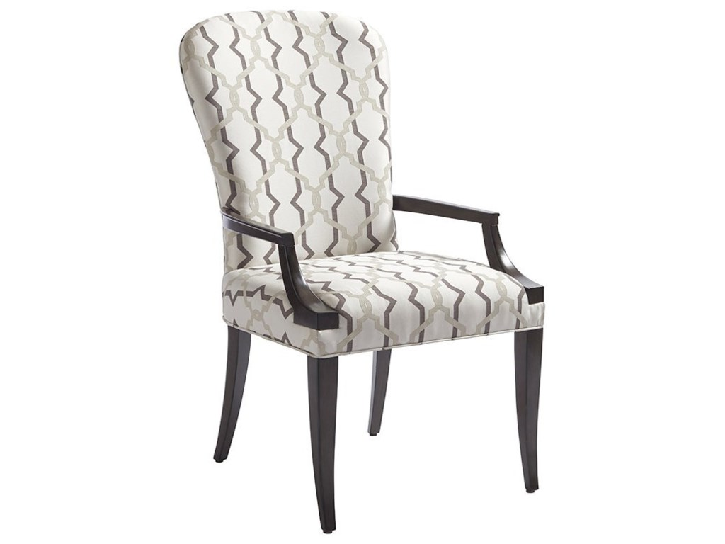 Barclay Butera BrentwoodSchuler Upholstered Arm Chair (Custom)