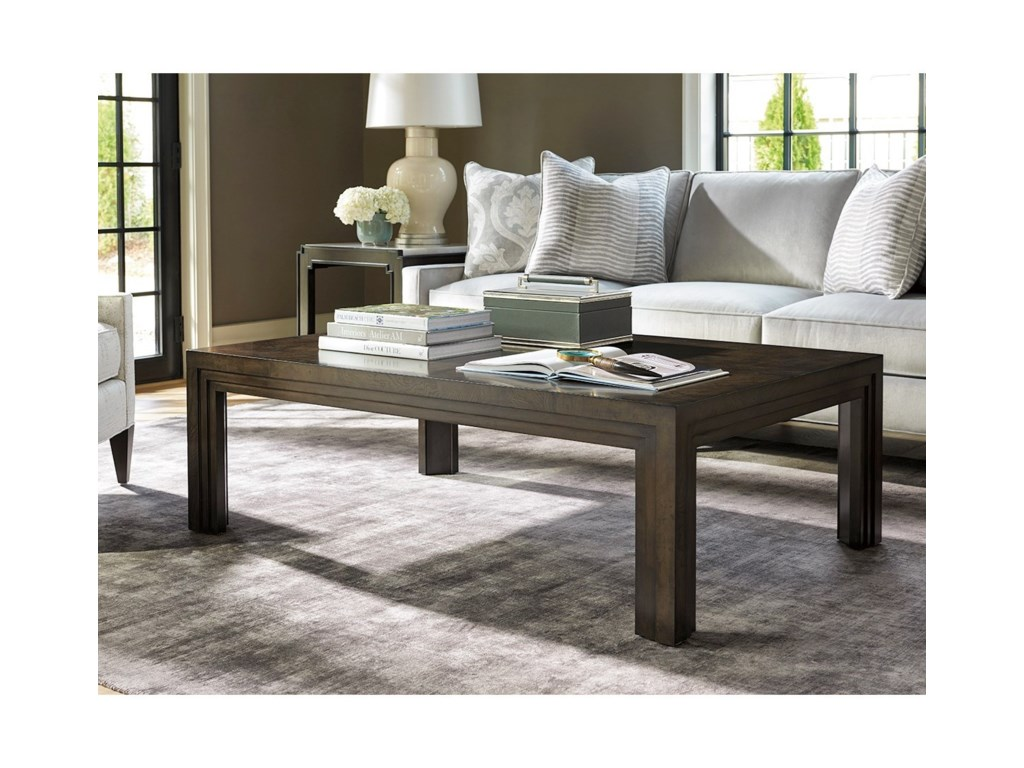 Barclay Butera BrentwoodEssex Rectangular Cocktail Table