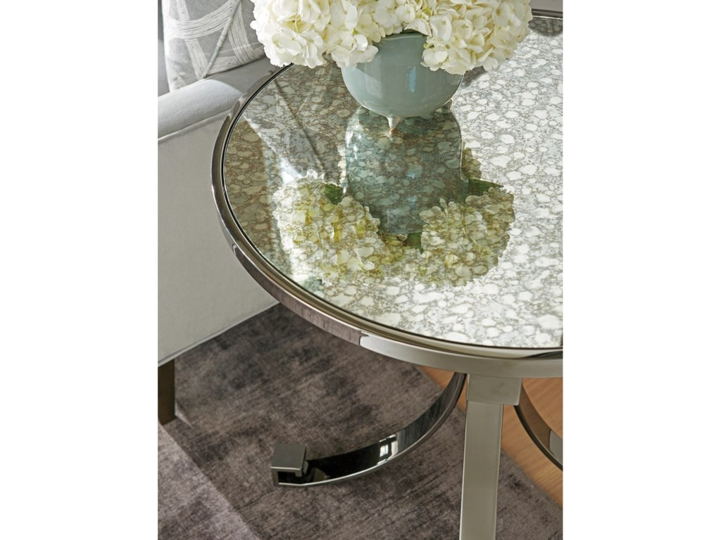Barclay Butera BrentwoodGrace Metal Lamp Table