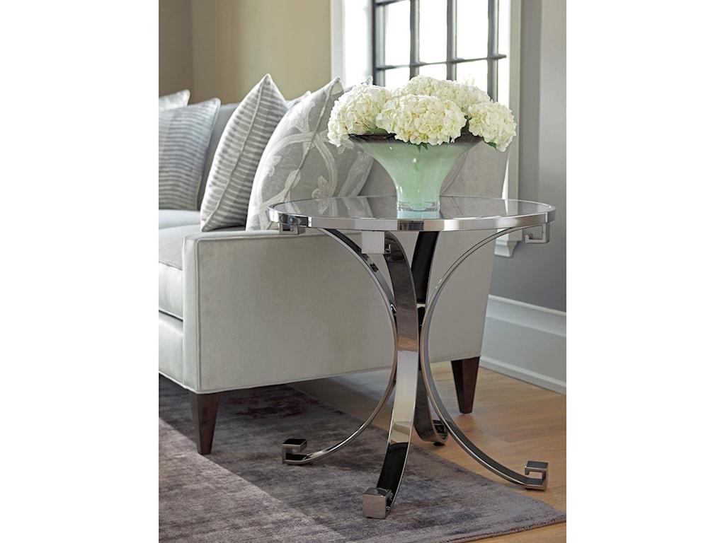 Barclay Butera BrentwoodGrace Metal Lamp Table