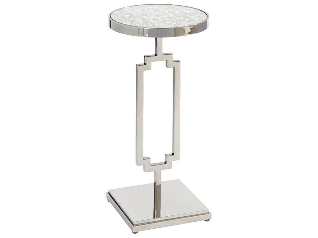 Barclay Butera BrentwoodStonehill Metal Accent Table