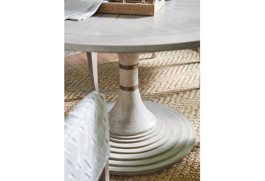 Barclay Butera Malibu 926 870c Topanga 54 Inch Round Dining Table Hudson S Furniture Kitchen Tables