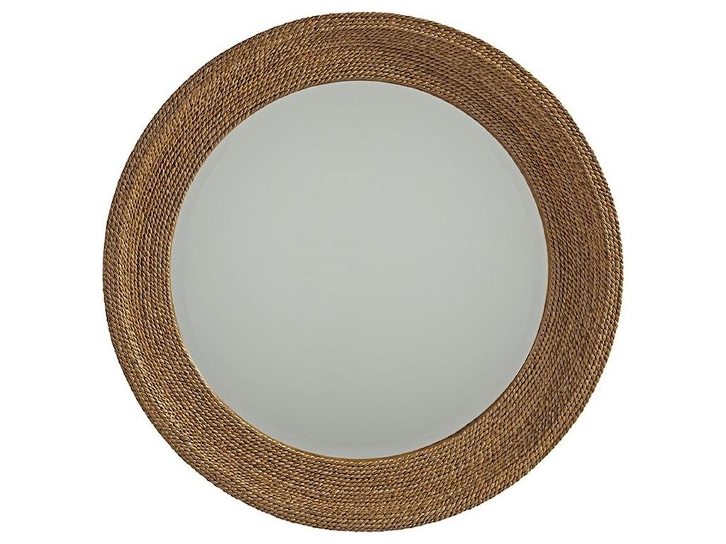 Barclay Butera Newportla Jolla Woven Round Mirror