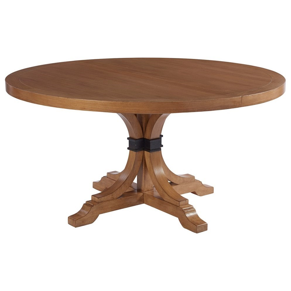 Barclay Butera Newport Magnolia 60 Round Dining Table With Table