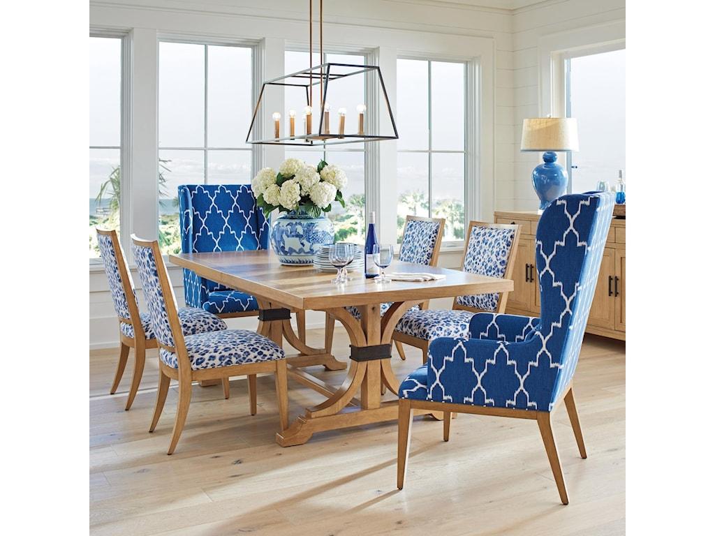 Barclay Butera Newport7 Pc Dining Set