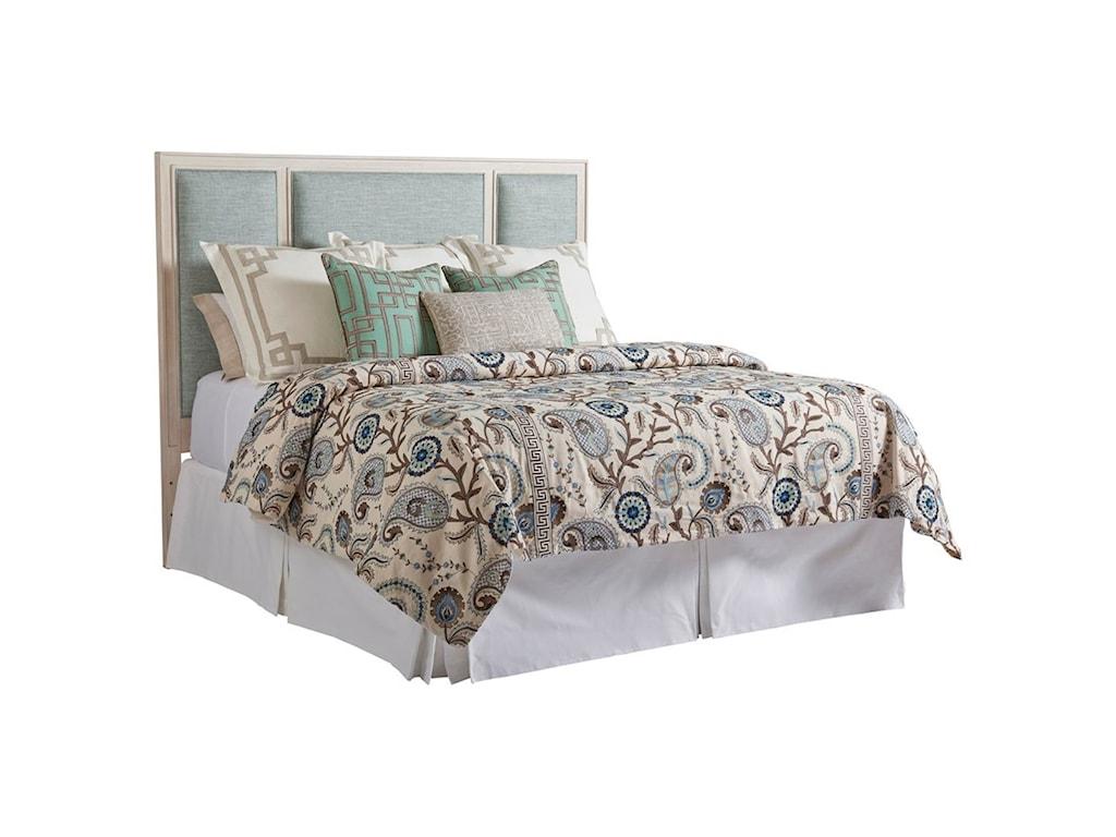 Barclay Butera NewportCrystal Cove Custom Upholstered Hdbd 6/6