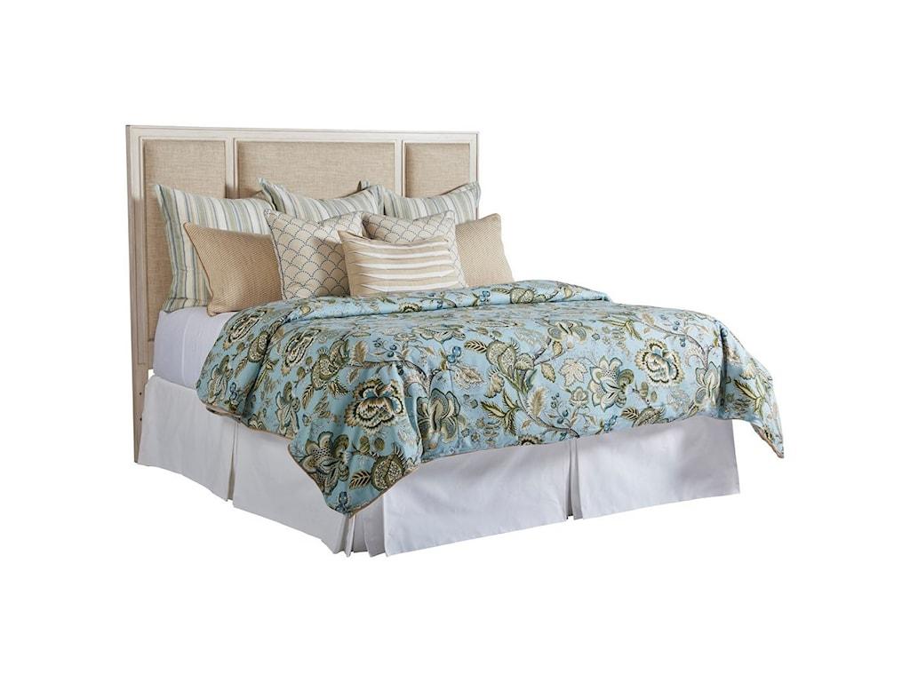 Barclay Butera NewportCrystal Cove Upholstered Panel Headboard 6/0