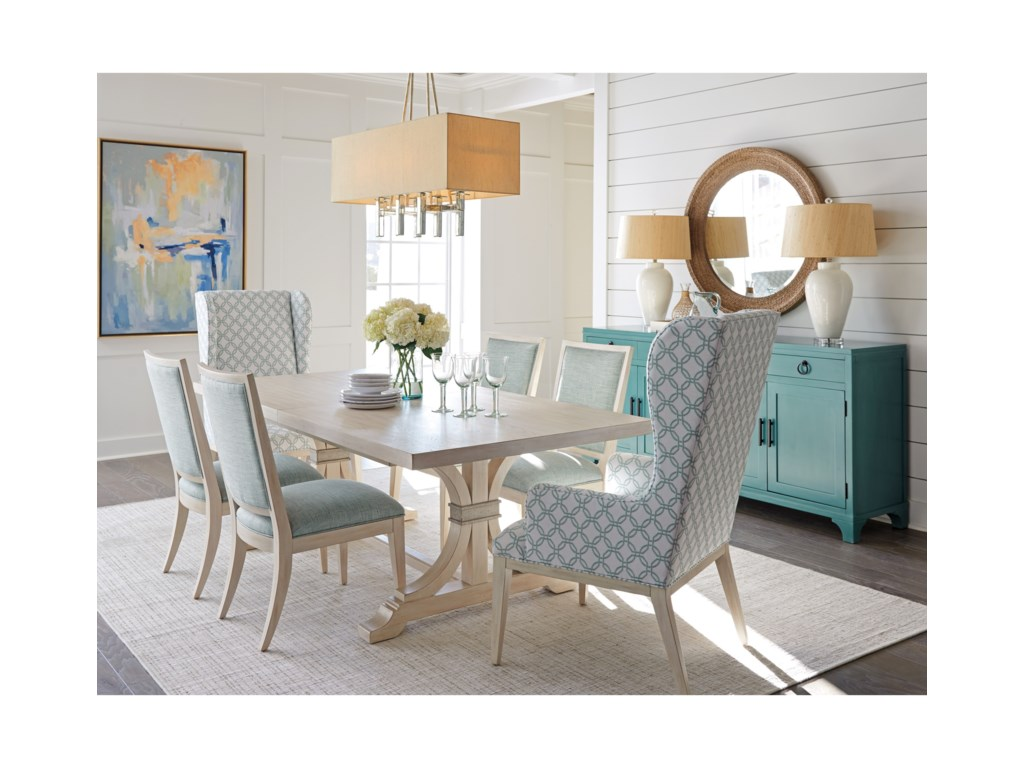 Barclay Butera Newport7 Pc Dining Set