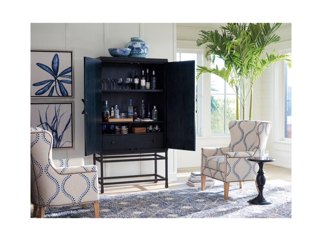 Barclay Butera NewportJade Bar/Chest On Stand
