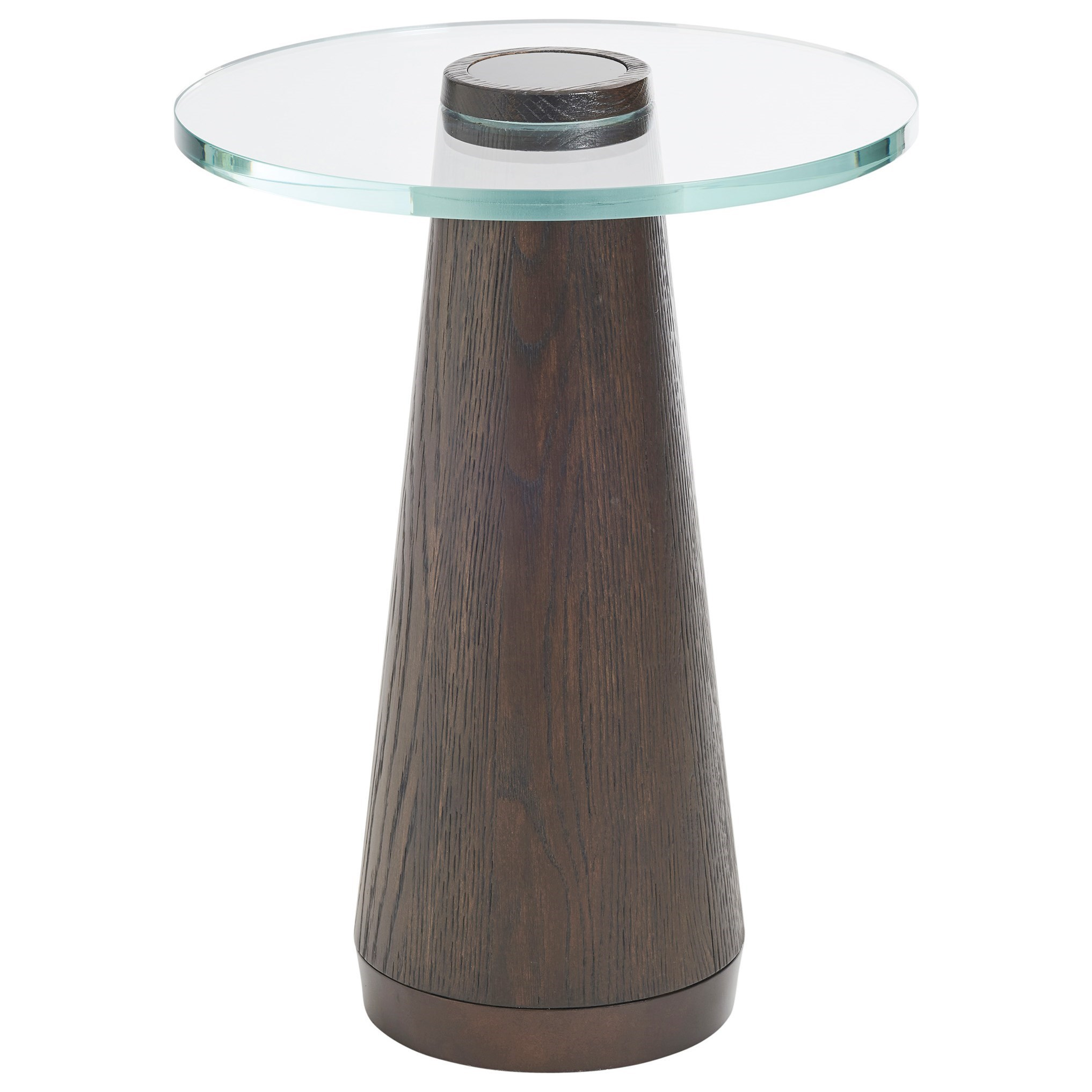 Apex Accent Table with Glass Top