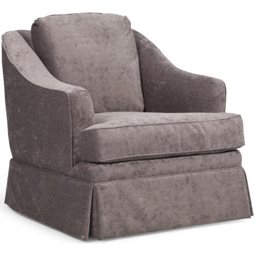 Barrymore Pembroke Traditional Chair with Skirted Base