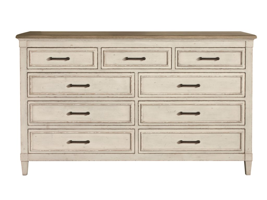 Bassett BellaNine Drawer Dresser