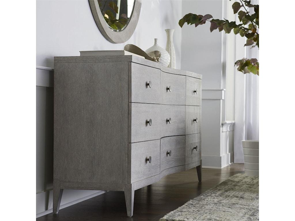 Bassett Savoy9 Drawer Dresser