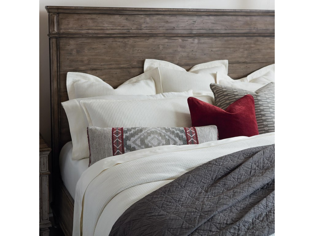 Bassett VeronaKing Bed, Dresser, Mirror, & Nightstand