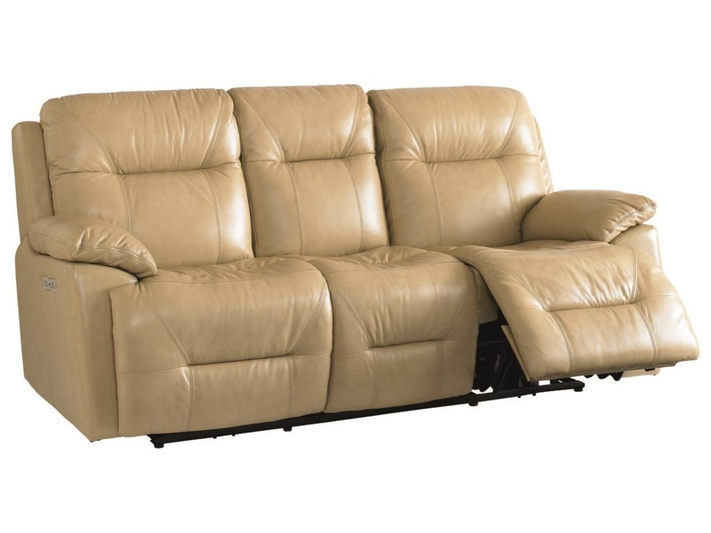 Bassett EpicPower Reclining Lay-Flat Sofa