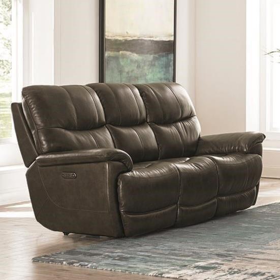 bassett reclining sofa baci living room