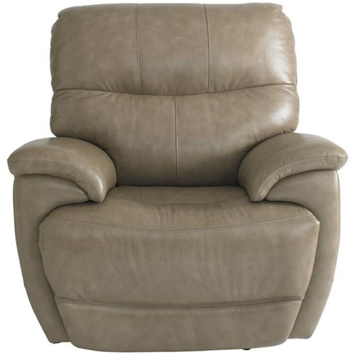 Bassett Brookville Casual Power Recliner with Power Headrest and USB Port