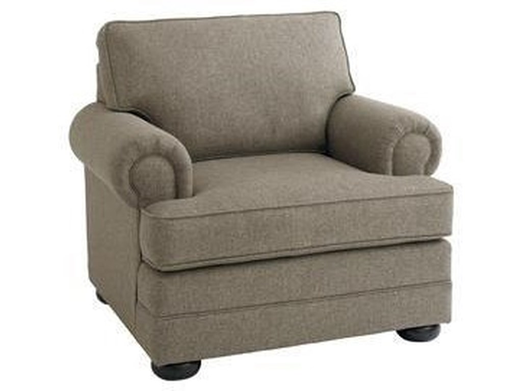 Bassett Hyde ParkChair and Ottoman