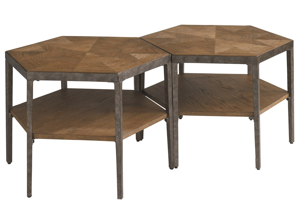 Bassett BrattonHexagon Bunching Cocktail Table