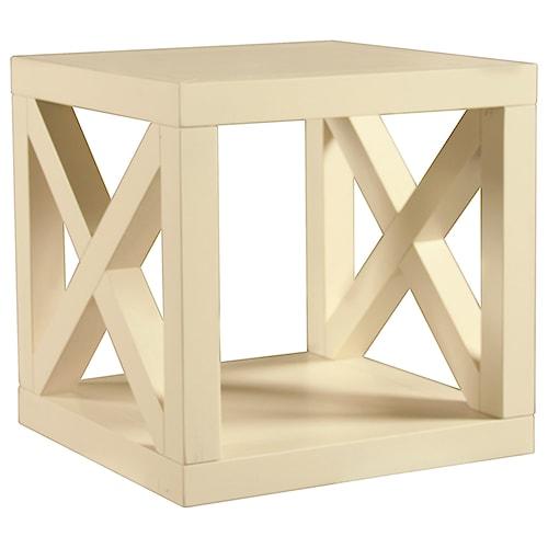 Bassett Axis Cube Table