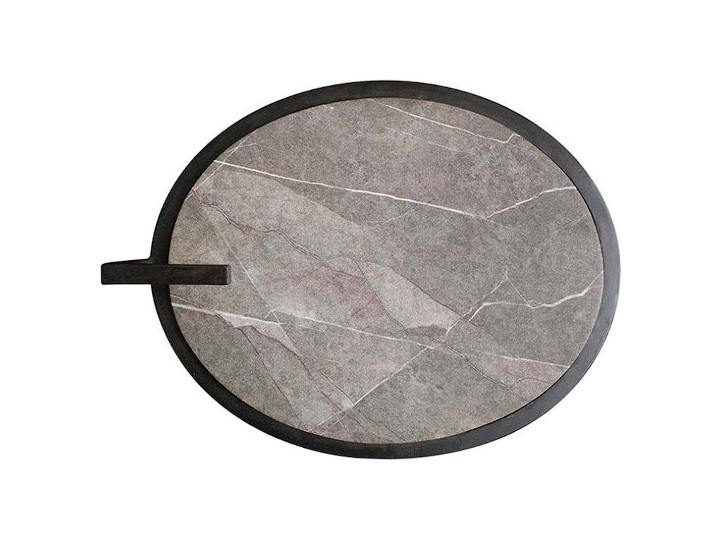 Bassett Iron & StoneEnd Table