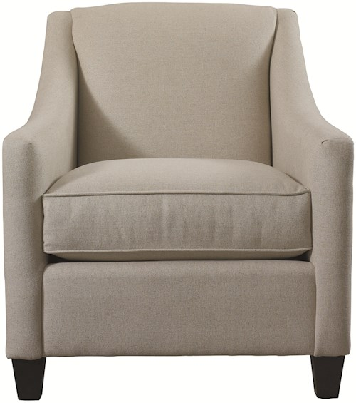 Bassett Accent Chairs by Bassett Corina Accent Chair with Casual Style