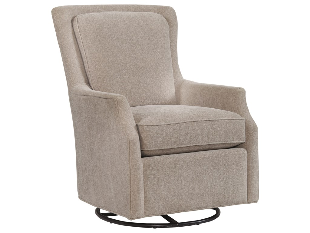 Bassett Accent ChairsKent Accent Swivel Glider Chair