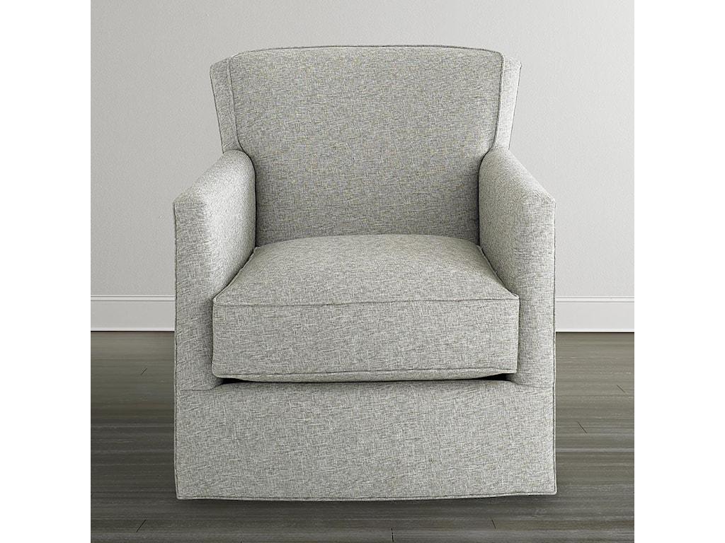 Bassett Accent Chairs by BassettAmerican Living Swivel Chair