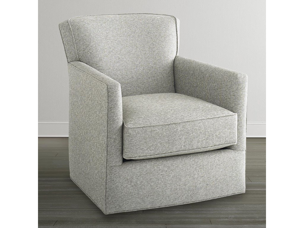 Bassett Accent Chairs by BassettAmerican Living Swivel Chair