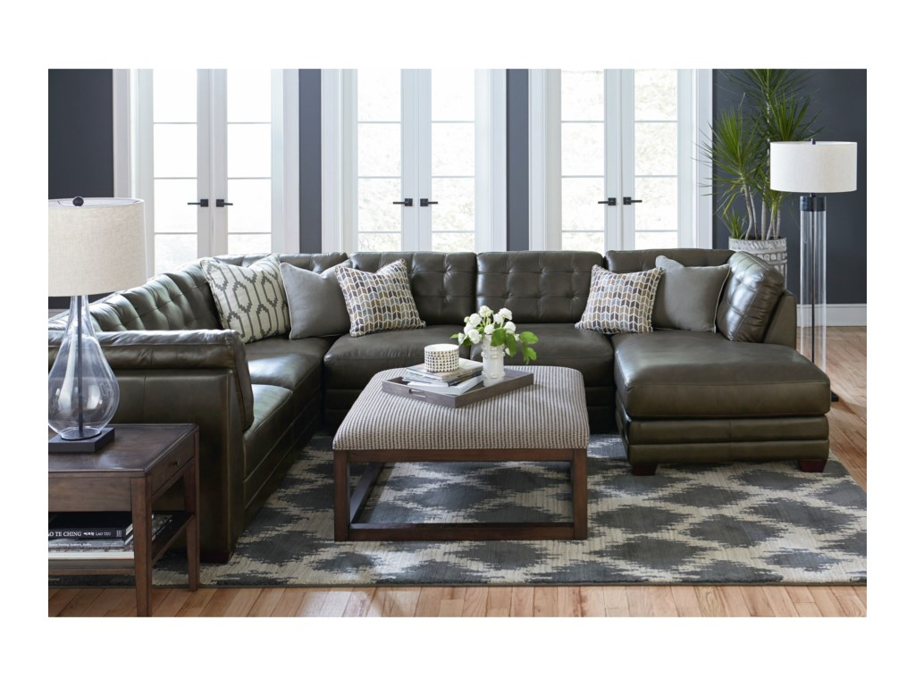 Bassett Affinity3 Piece Sectional