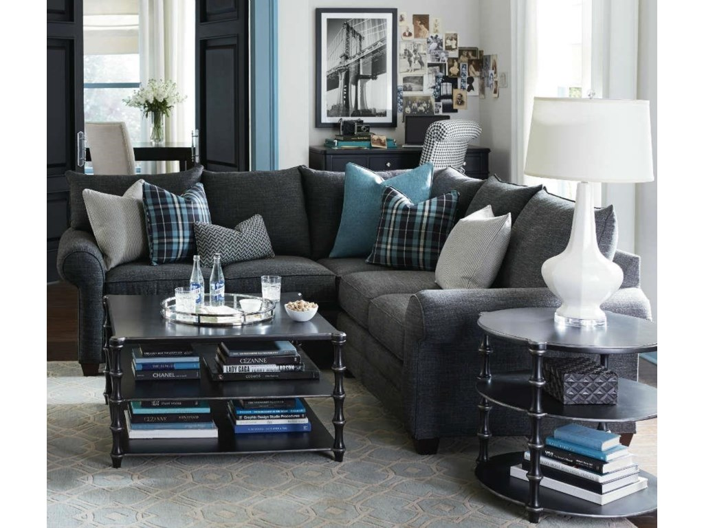 Bassett Alex 3989 L-Shaped Sectional Sofa - Great American Home Store -  Sectional Modular Piece