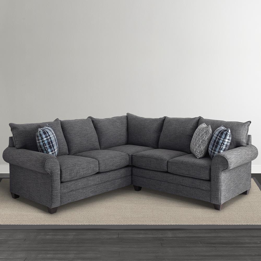 Bassett Alex 3989 L Shaped Sectional Sofa Great American Home
