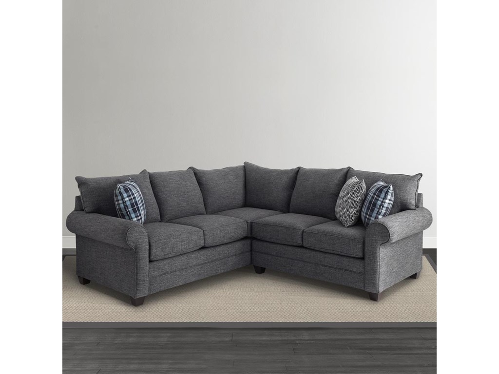 Bassett Alex 3989L-Shaped Sectional Sofa