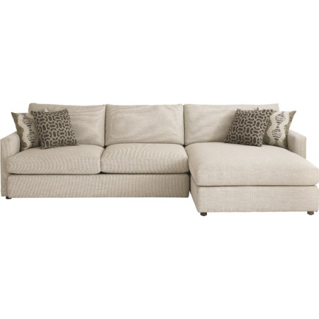 Sectional with Right Arm Facing Chaise