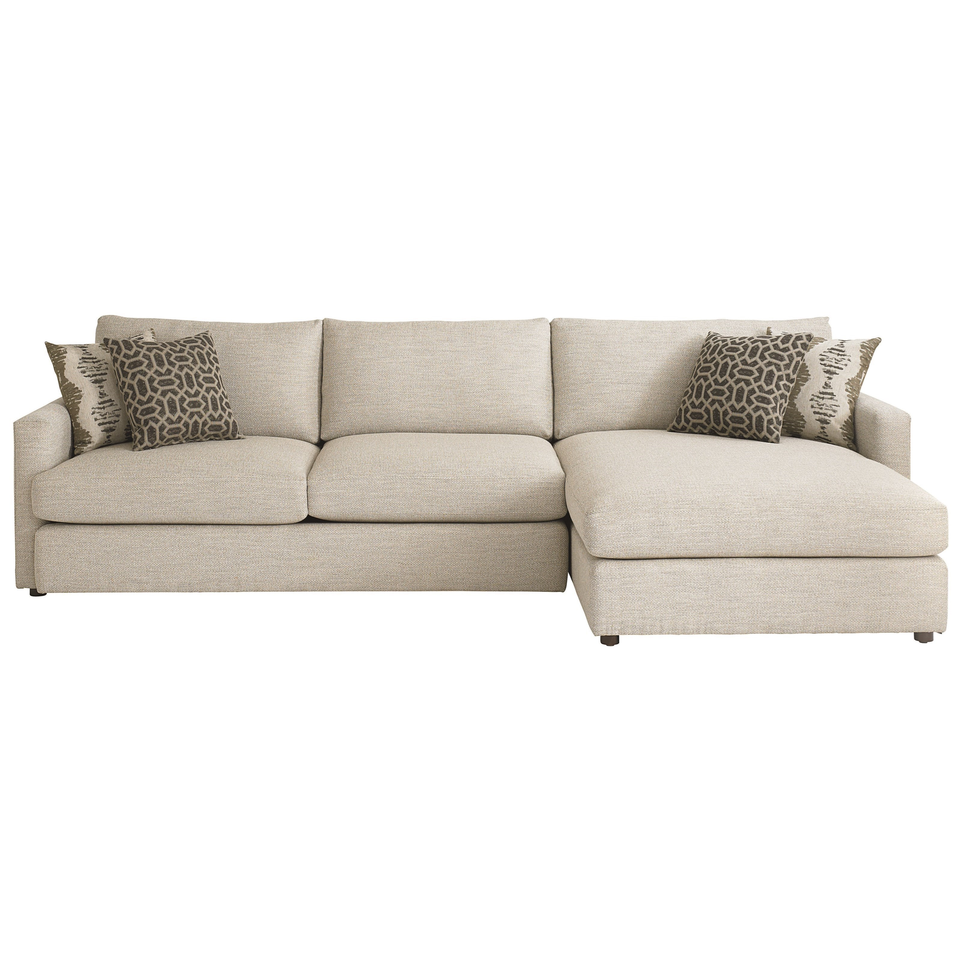 allure furniture. bassett allure contemporary sectional with right arm facing chaise darvin furniture sofas a