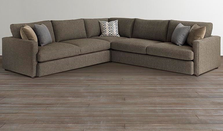Bassett AllureSectional with 4 Seats