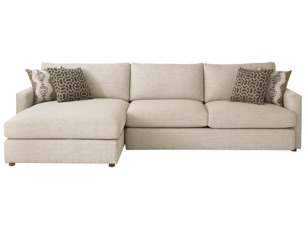 Bassett AllureSectional with Left Arm Facing Chaise