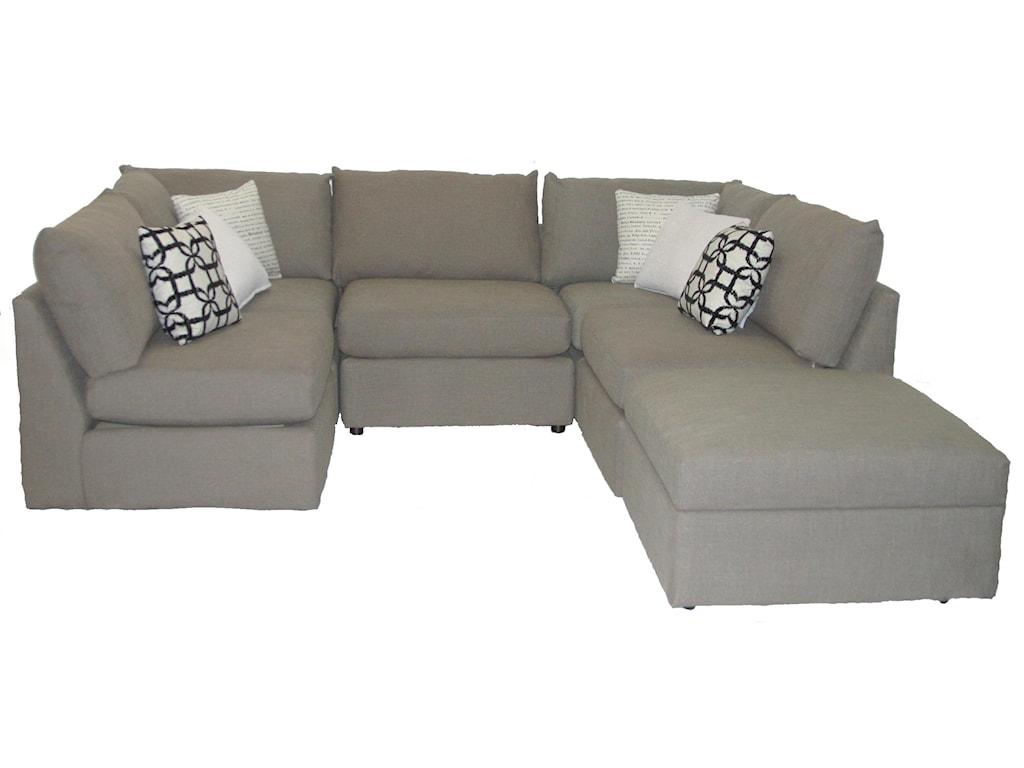 Bett Beckhamsectional Sofa