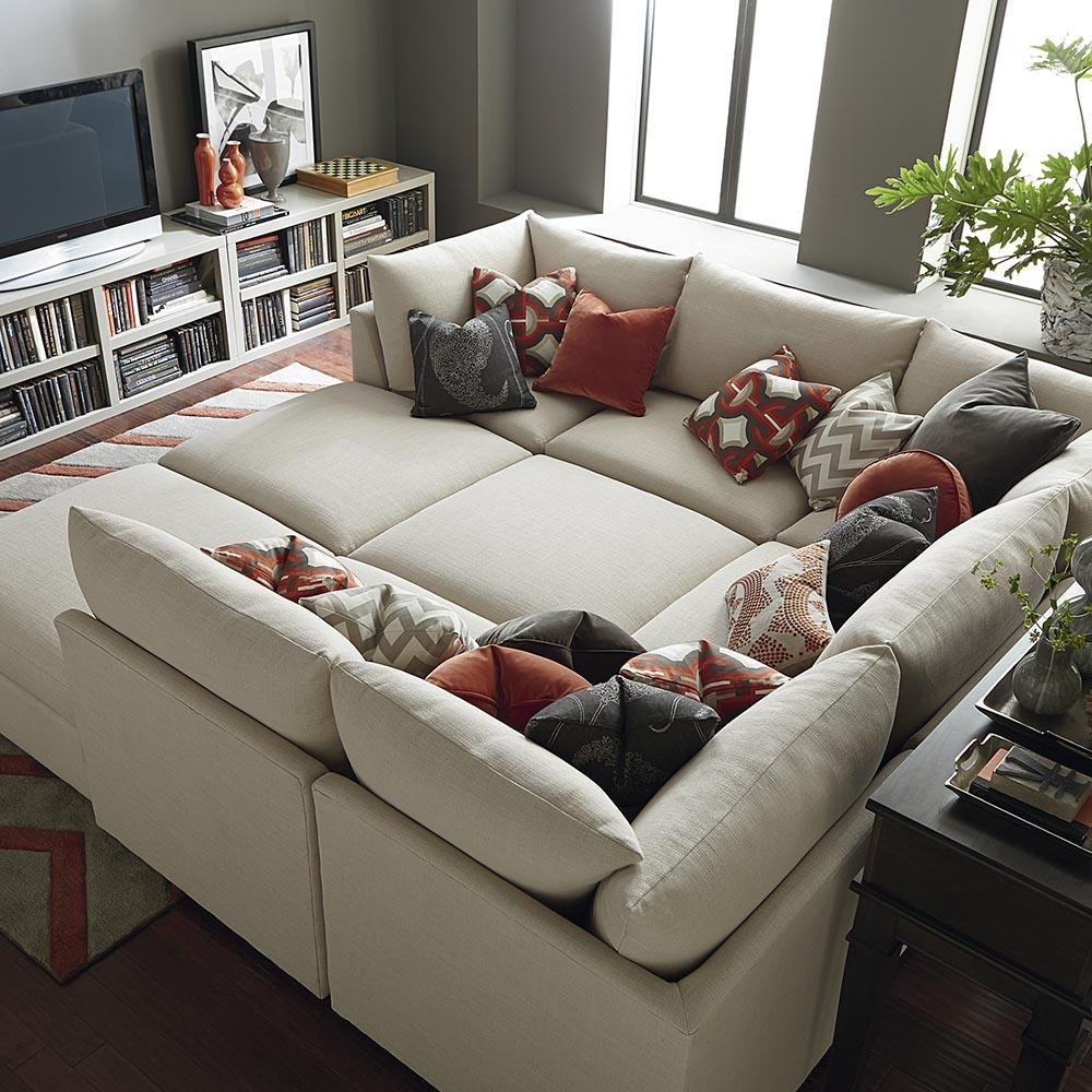 Beckham Sectional Configurations  sc 1 st  Great American Home Store : bassett sectional sofa - Sectionals, Sofas & Couches