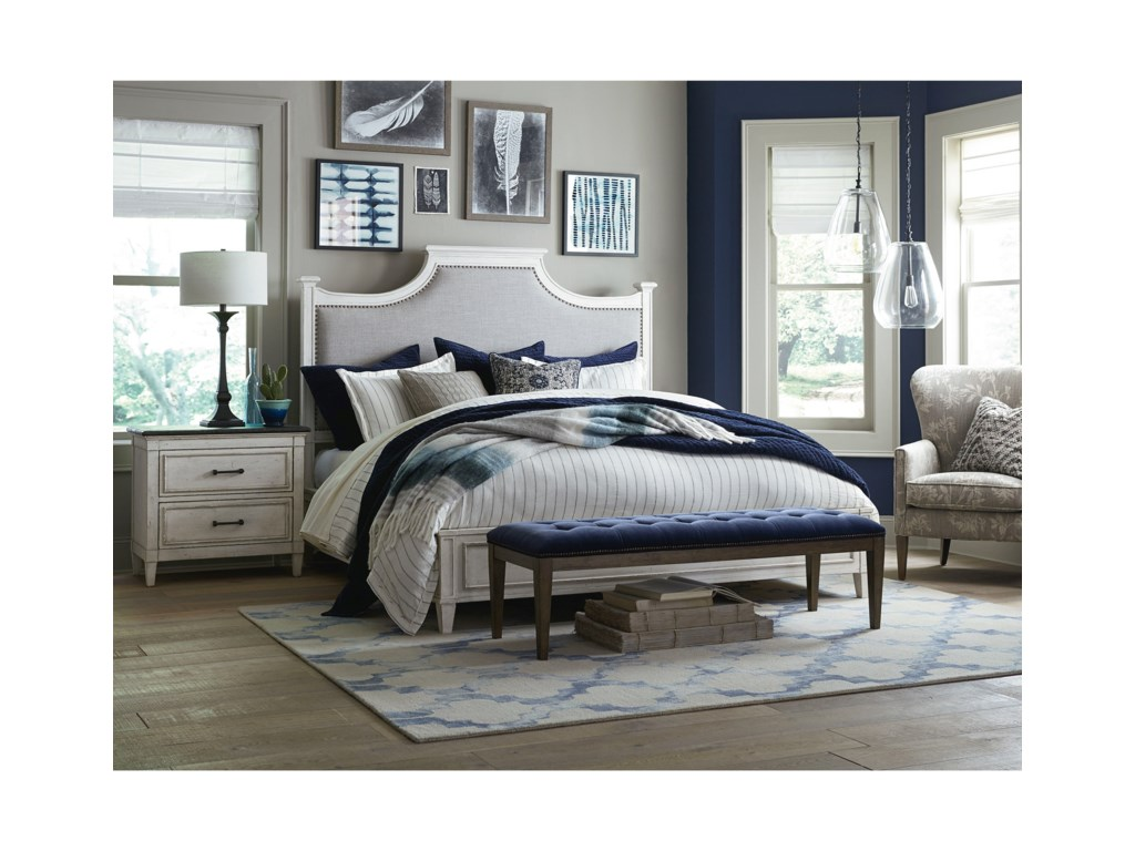 Bassett BellaCalifornia King Upholstered Bed