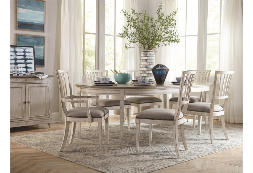 Bett Bella Cottage Round Dining Table With Leaves