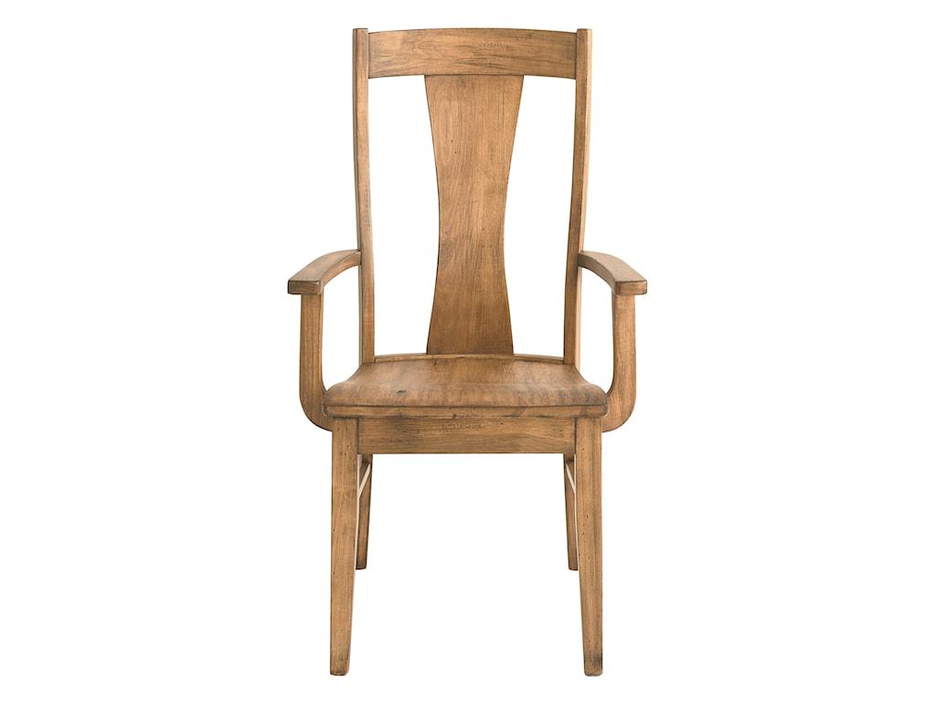 Bassett Bench MadeBoone Arm  Chair