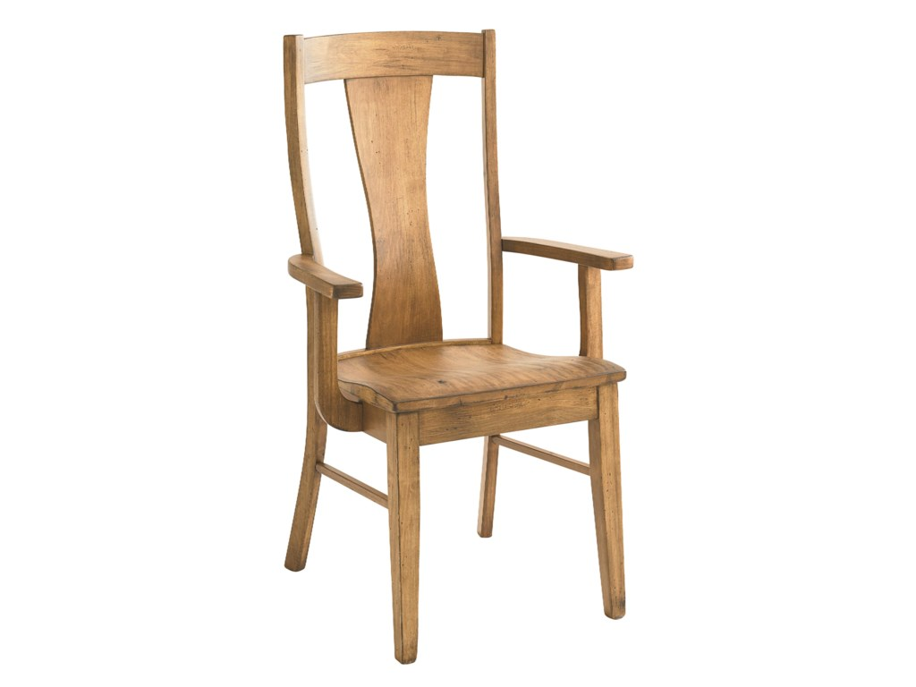 Bassett Bench MadeBoone Arm  Chair