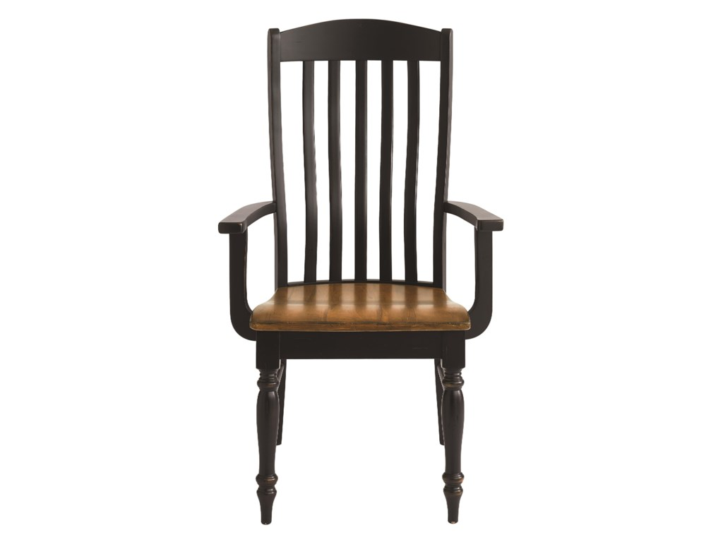 Bassett Bench Made MapleHenry Arm Chair