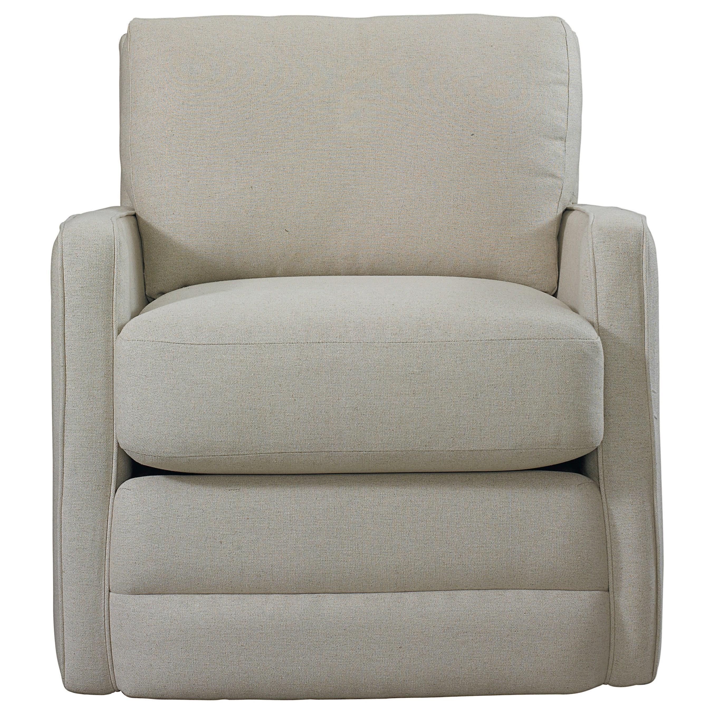 Bassett Bishop Casual Swivel Chair