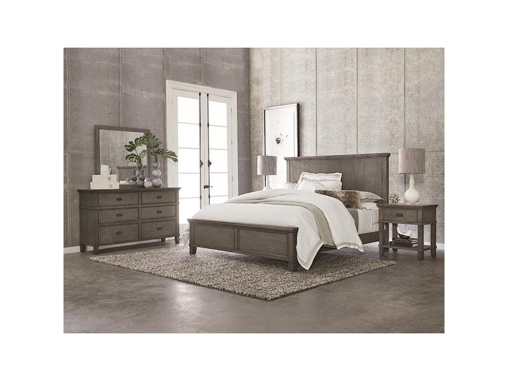 Bassett BrentwoodKing Panel Bed