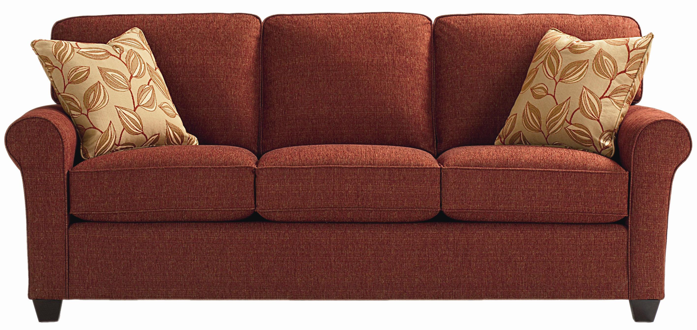 upholstered stationary sofa brewster by bassett wilcox furniture rh wilcoxfurniture com bassett brewster sofa price bassett brewster sofa reviews