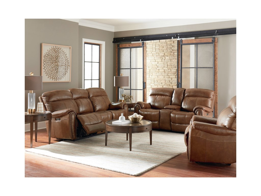 Bassett Bridgeport - Club LevelReclining Living Room Group