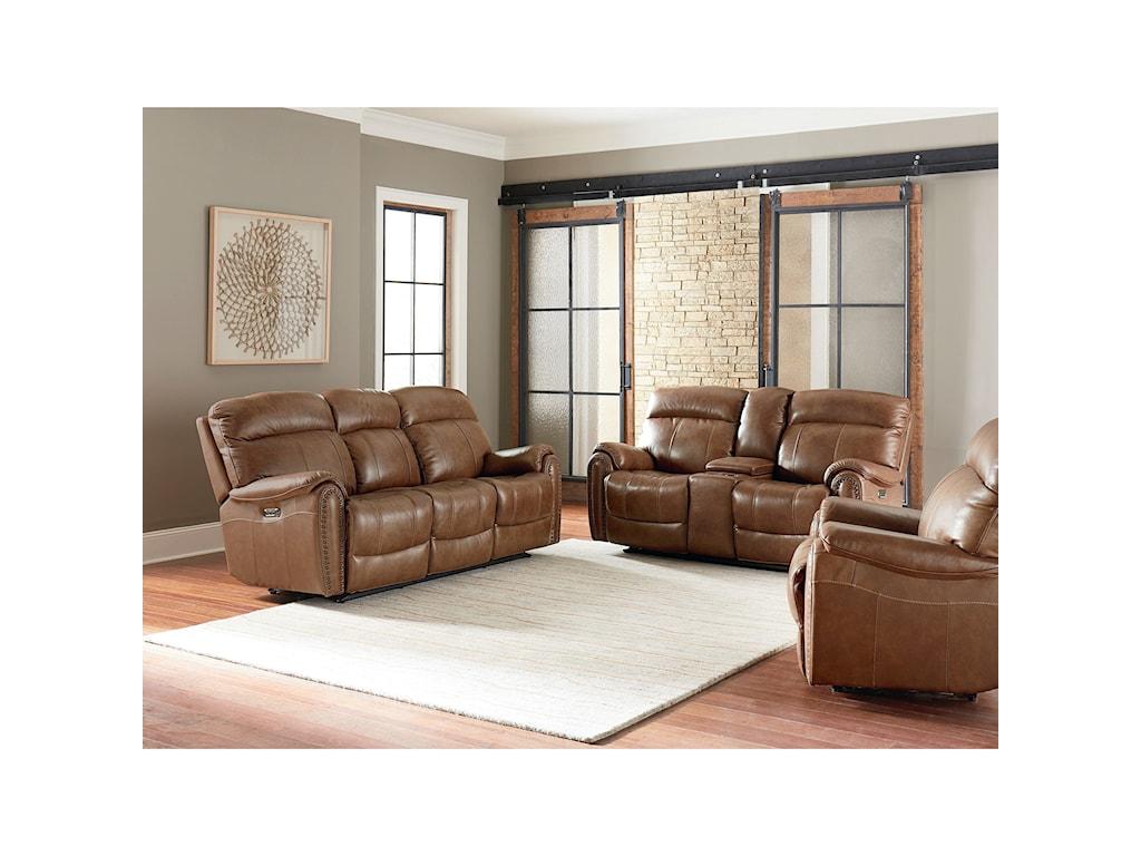 Bassett BridgeportReclining Living Room Group